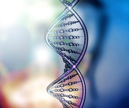 Illustrasjon av DNA