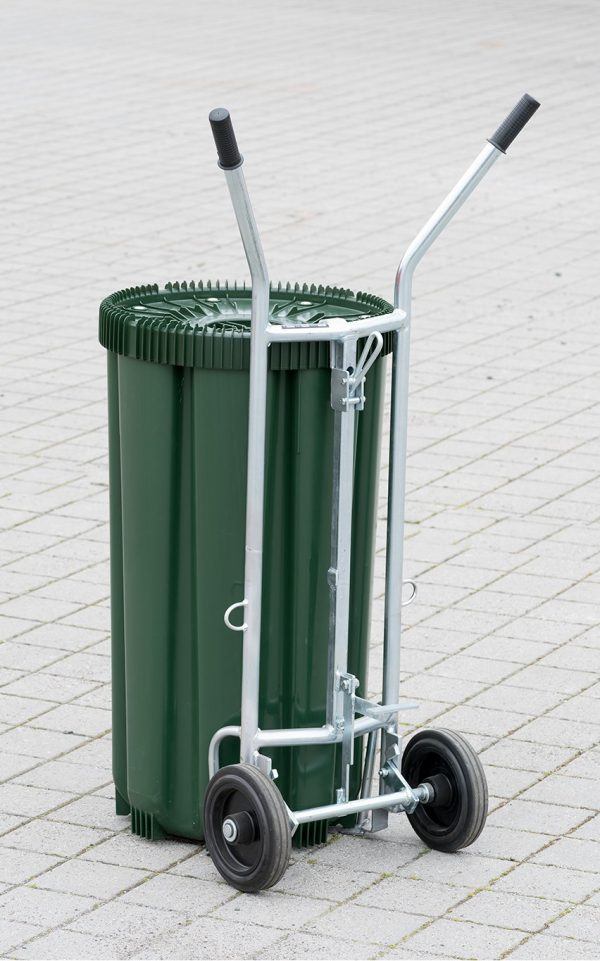 Grønn CC Beholder med fattralle