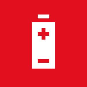 Symbol batteri