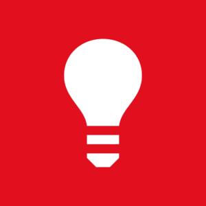 Symbol lyspærer