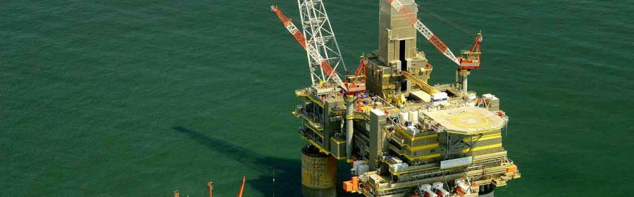 Bilde av oljeplattform